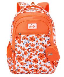 Genie Camellia Backpack Orange - 19 Inch