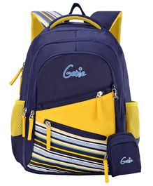 Genie Bowline Backpack Navy Blue - 16 Inch