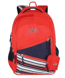 Genie Bowline Backpack Red - 16 Inch