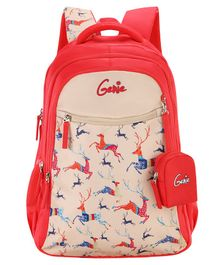 Genie Dasher Backpack Pink - 15 Inch