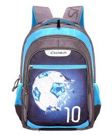 Genius Swaz Backpack Blue - 19 Inches