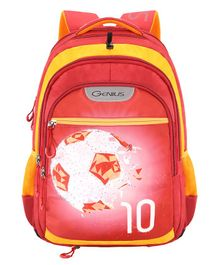 Genius Swaz Backpack Red - 19 Inches