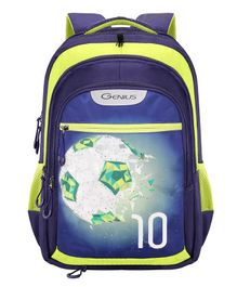 Genius Swaz Backpack Teal - 19 Inches