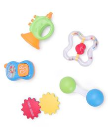 Baby Rattle Toys Pack of 5 - Multicolor