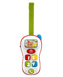 Chicco Bilingual Toy Musical Selfie Phone - Multicolor