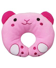 Brandonn U - Shaped Pillow With Soft Cushion - Pink