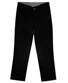 Campana Essential Solid Full Length Trousers - Black