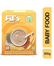 Fil's Cereal With Milk Ragi & Multi Millet - 300 gm