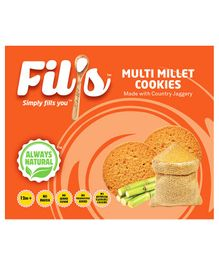 Fil's Multi Millet Cookies - 150 gm