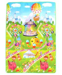 Babyhug Alphabet & Number Playmat Circus Print - Multicolour