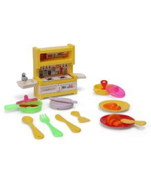 Sunny Kids Play Learn Inspire Kitchen Set Multicolor - 15 Pieces