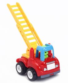 Friction Powered Ladder Truck - Yellow