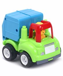 Friction Powered Dump Truck - Blue