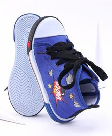 Cute Walk by Babyhug Canvas Shoes - Blue