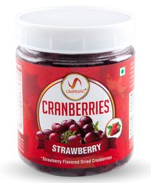 Umanac Cranberries Strawberry Flavored - 250 gm