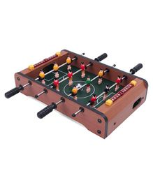Soccer Multi Table Soccer Game - Brown