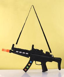 Acousto Optic Gun With Light & Sound - Black