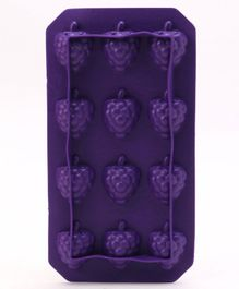 Grapes Shaped Ice Cube Tray - Dark Purple