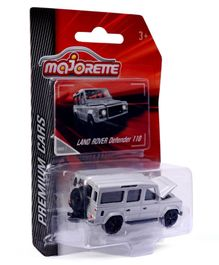 Simba Majorette Premium Land Rover Defender Car - Grey