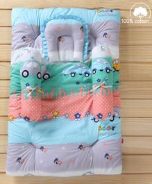 Babyhug Bedding Set Parkland Print - Multicolor