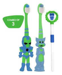 Buddsbuddy Kids Oral care Combo Pack Mutlicolor