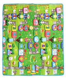 Babyhug Alphabet & Number Playmat Animal Print - Multicolour