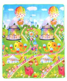 Babyhug Alphabet & Number Playmat Octopus Print - Multicolour