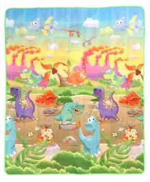Babyhug Alphabet & Number Playmat Dino Print - Multicolour