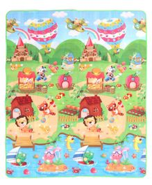 Babyhug Alphabet & Number Playmat Multiprint - Multicolour