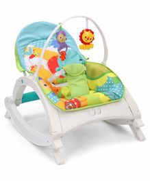 Baby Bouncer With Hanging Toys - Multicolor