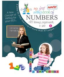 Buzzers My First Writing Book Numbers 1 - 20