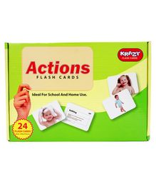 Krazy Actions 24 Flash Cards - Actions