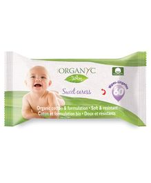 Organ(y)c Beauty Baby Wipes - 60 Pieces