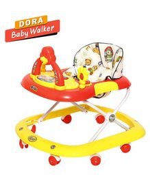 Dash Delux Musical Walker - Yellow Red
