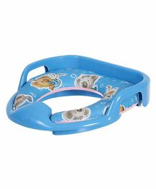 Dash Soft Cushioned Baby Potty Seat Animal Print - Blue