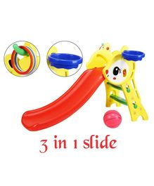 Kiddie Fun Fun Slide Rabbit Design - Multicolour (Colour May Vary)