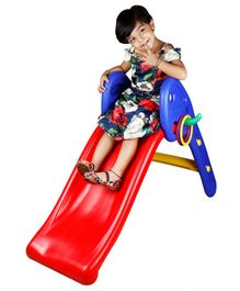 Kiddie Fun Slide with Ring - Multocolour (Colour May Vary)