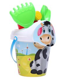 Ratnas Cow Beach Play Set Multicolor - 6 Pieces