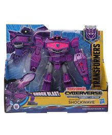 Transformers Cyberverse Decepticon Shockwave Figure Purple Pink - Height 19 cm