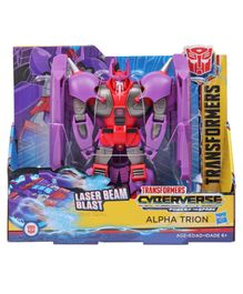 Transformers Cyberverse Bumblebee Figure Purple & Red - Height 19.5 cm