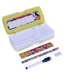 Disney Mickey Mouse And Friends Xylo Big Pencil Box - Yellow