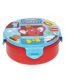 Imagica Tubbby Printed Character Lunch Box - Red