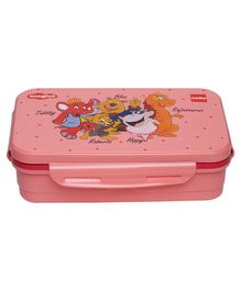Imagica Characters Printed Lunch Box - Pink