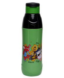 Imagica Printed Water Bottle Green - 600 ml