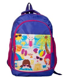 Li'll Pumpkins Beach School bag - Purple