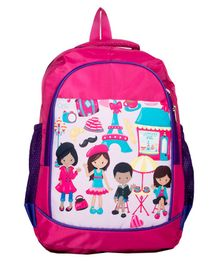 Li'll Pumpkins Children School bag - Pink