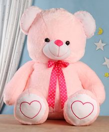 Babyhug Plush Teddy Bear Soft Toy Pink - Height 91 cm