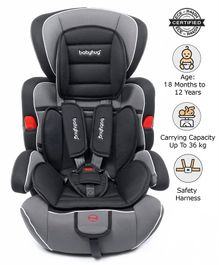 Babyhug Safe Journey Forward Facing Car Seat - Black