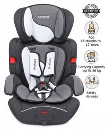Babyhug Safe Journey Forward Facing Car Seat - Grey
