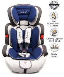 Babyhug Safe Journey Forward Facing Car Seat - Blue